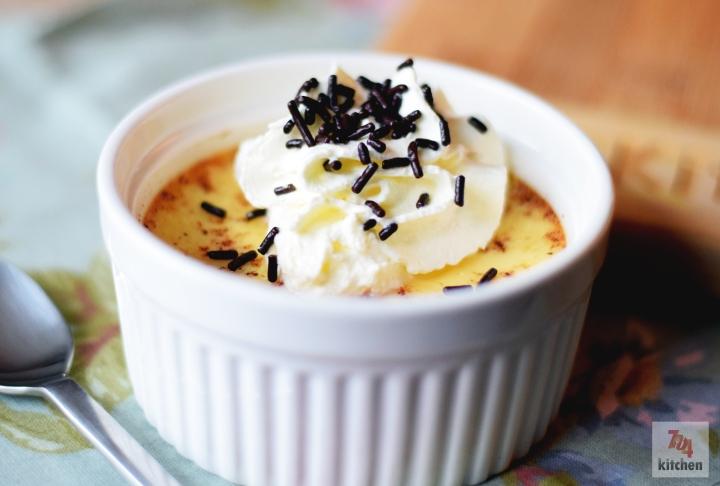 Baked Vanilla Custard