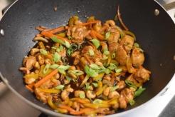 Oriental Cashew Chicken