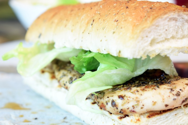 Herbed Grilled Chicken Sandwich